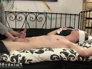 Gay male bondage lovemaking movie How Much Wanking Can He Take?