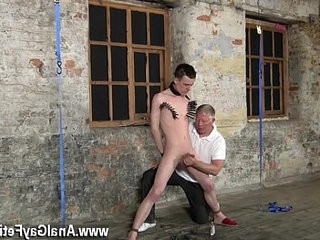 Forcibly gay fucking photos Sean McKenzie is trussed up and at the