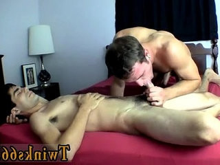Amazing gay scene Wesley Gets sopping With Devin