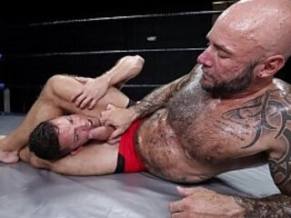 Amateur wrestlers getting horny