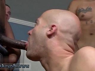 youthful interracial homophile porn movies Michael Madison the Bukkake railr!