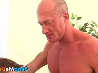 Eric West getranssexual a nudeback pounding from Jake Noriss raw cock