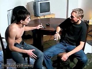 Gay black boy pornography blondee, slender and wonderful euro fellow Veso gets