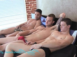 three hot mans