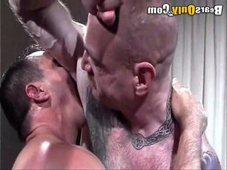 Sucking Daddys Pierced hard-on