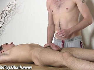 homo man male oral movieture Dom stud Kieron Knight has a remarkable