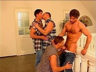 Awesome spunk displayer anal whacking nasty orgy adventure