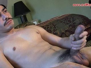 Bi Latin uncut homo man cock